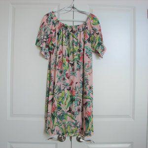 H&M Floral Peasant Boho Summer Dress